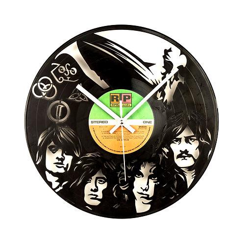 Led Zeplin band clock