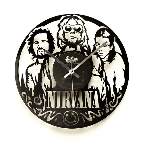 Nirvana Band Clock