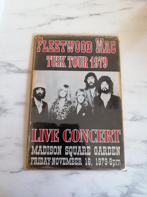 Fleetwood Mac Tin Sign