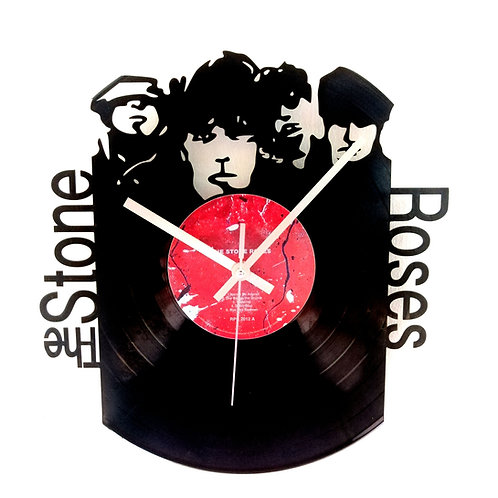 The Stone Roses Carved Vinyl Clock