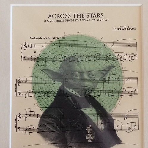 Start Wars Sheet Music Print