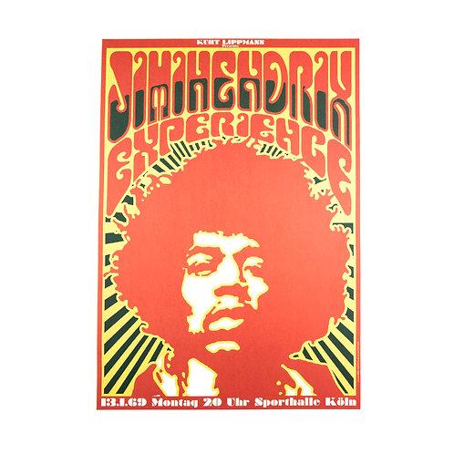 Jimmi Hendrix Poster