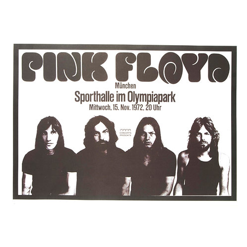 Pink Floyd live Poster
