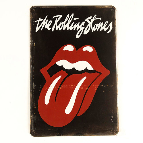 Rolling Stones Tin Sign