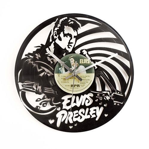 Elvis Presley Cut Vinyl Clock