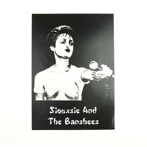 Siousxie and the Banshees Poster