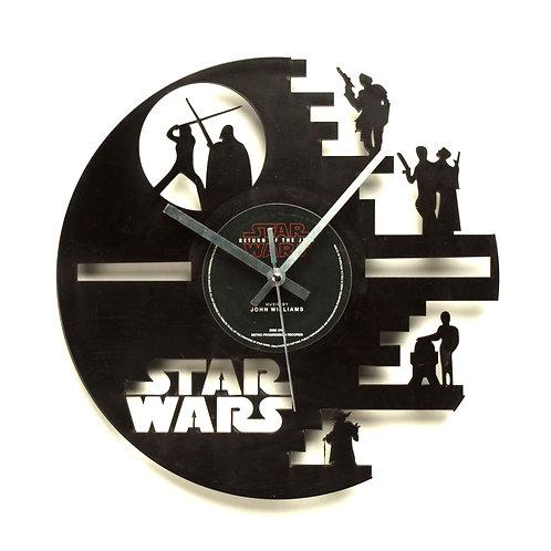Star Wars Characters Cut Vinyl Clock