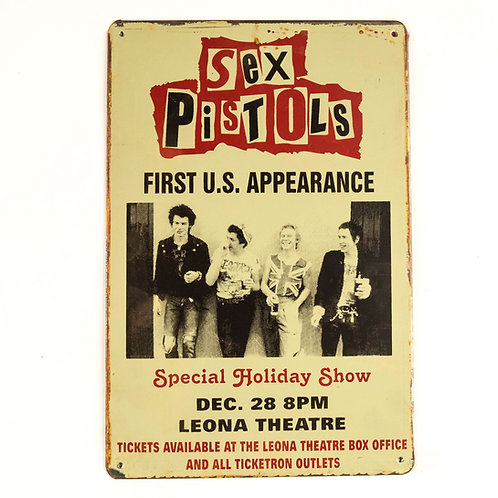 The Sex Pistols Tin Plate