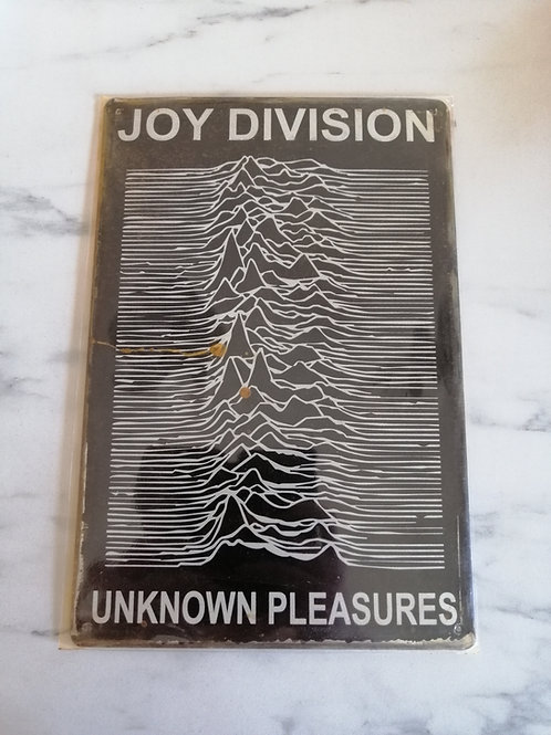 Joy Division Tin Sign