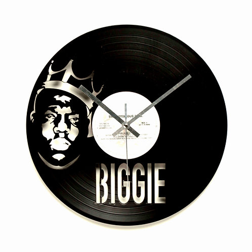 The Notorious B.I.G. Cut Vinyl Clock