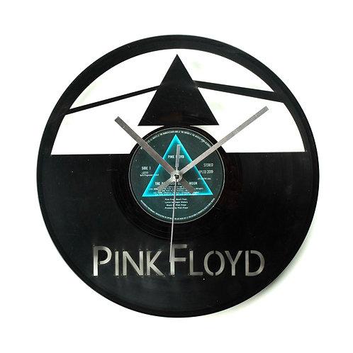 """Pink Floyd's """"The Dark Side of the Moon"""" Cut Vinyl Clock"""