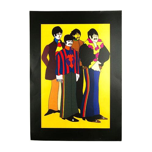 Beatles Yellow Submarine film Poster