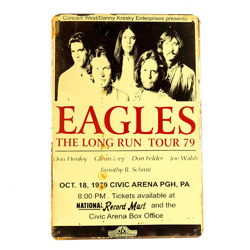 Eagles Tin Sign