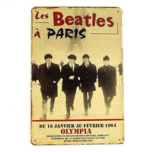 The Beatles Tin Sign