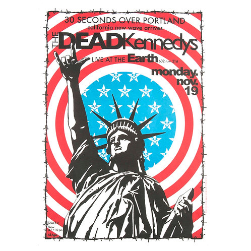 The Dead Kennedys Poster