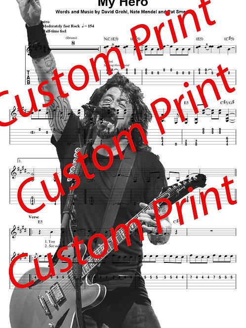 A4 Custom Print