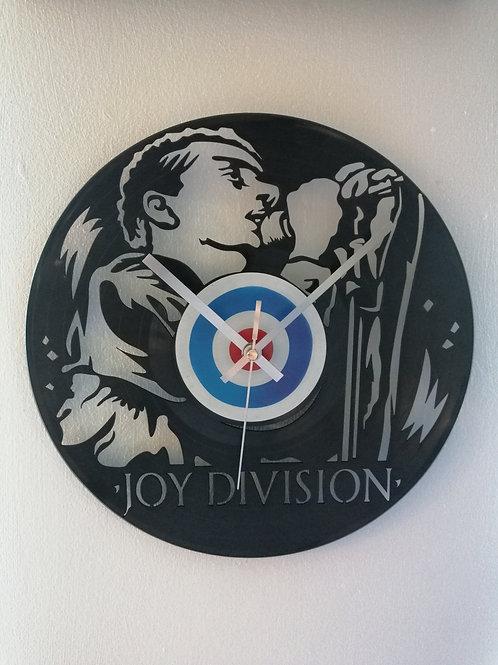 Joy Division Carved Vinyl Clock