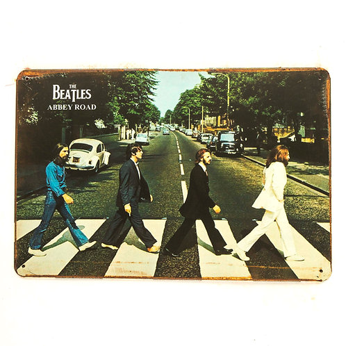 The Beatles Tin Sign