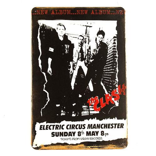The Clash Tin Sign