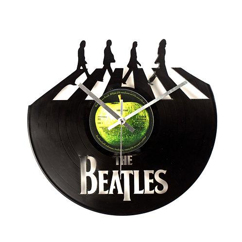 "The Beatles ""Abbey Road""Cut Vinyl Clock"