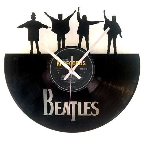 "The Beatles ""Help!"" Cut Vinyl Clock"