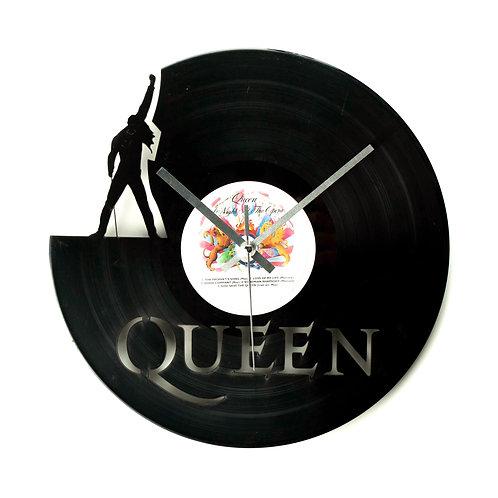 Queen Cut Vinyl Clock