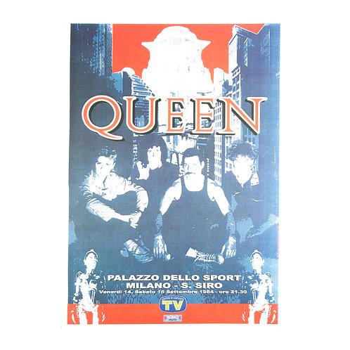 Queen live in Milan Concert Poster