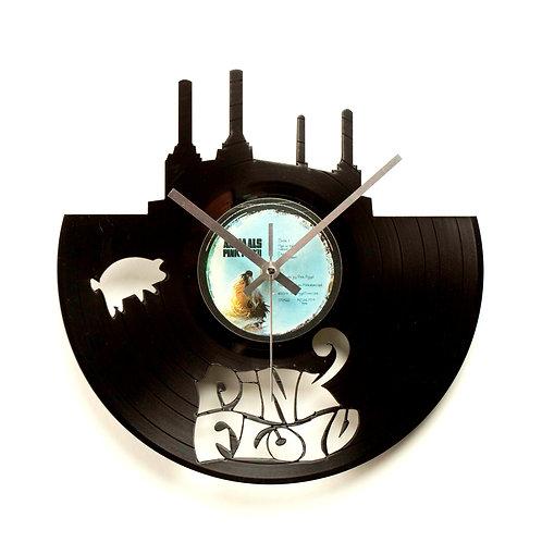 "Pink Floyd's ""Animals"" Cut Vinyl Clock"