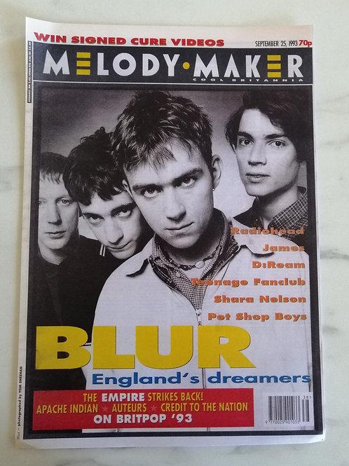 Blur Melody Maker