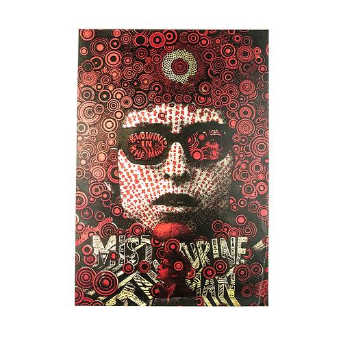 Bob Dylan (Mister Tambourine Man) Poster
