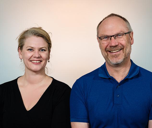 Anita Iversen og Per Braaten