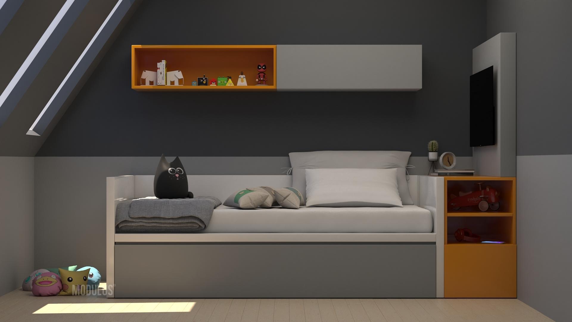 dormitorios de diseño para chicos