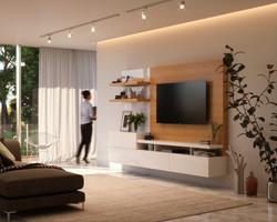 Mueble de Tv para living diseño minimalista