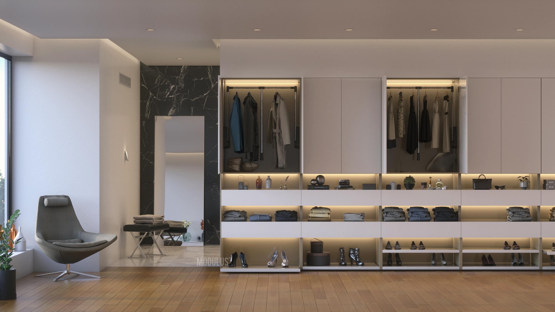vestidores de diseño
