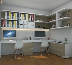 espacios de trabajo para dos personas