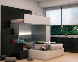 dormitorio para adolescentes