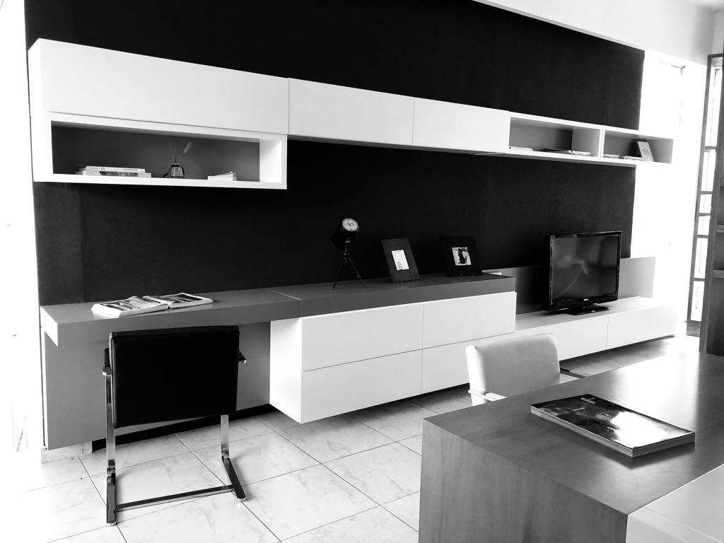 Diseño Mueble Tv + Escritorio
