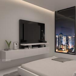 mueble de tv para dormitorio