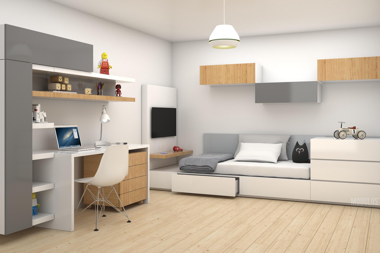 diseño contemporaneo de dormitorio