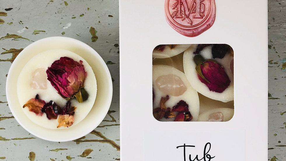 Tub Truffle - Rose Quartz