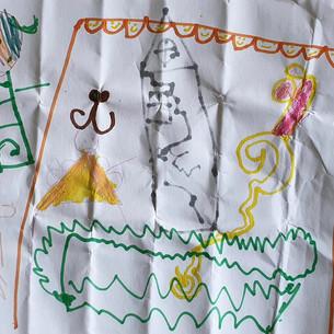 Super dessin de Sophia, 5 ans !