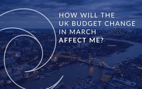 March 2021 UK Budget Change & UK Tax Change   Includes: