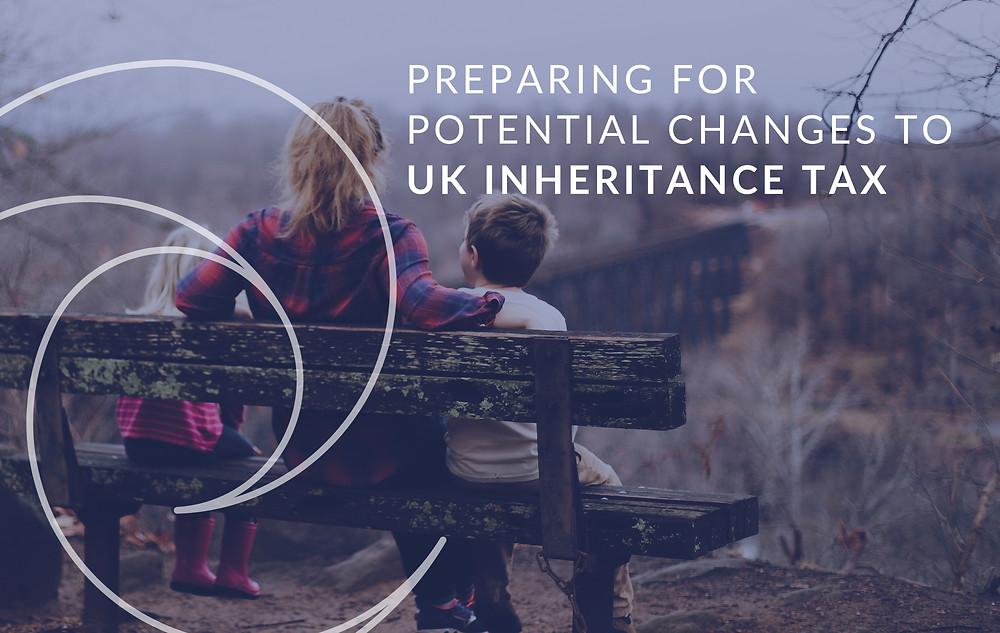 UK Inheritance Tax Changes 2021