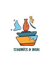 Ceramics N More Logo