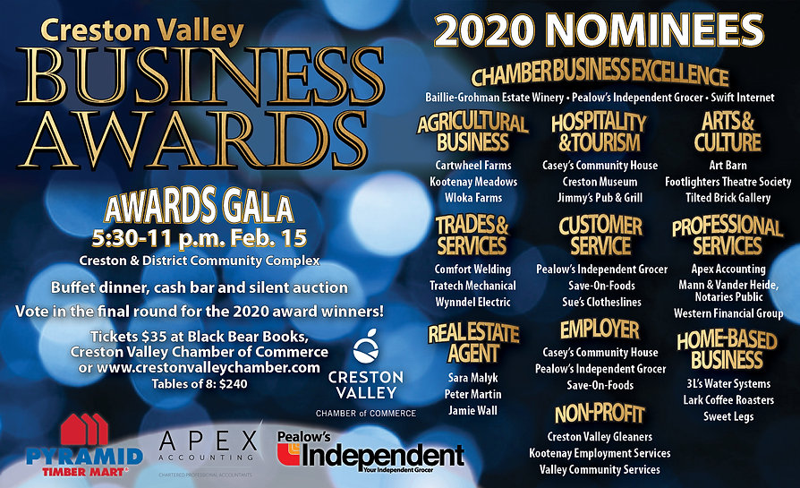 Chamber Awards nominations 2020 horiz.jp