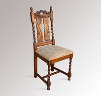 Restored Barley-Twist Chair