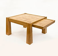 Extending Coffee Table with Pippy Oak Top