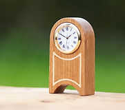 Woodclox Miniature Mantle Clock