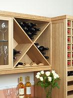 Wine Cellar in European Oak