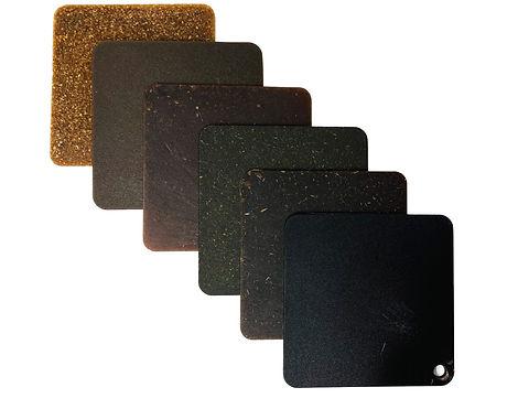 Pond 12 Biomaterial Natural Fiber Composite PLA Sample Bricks